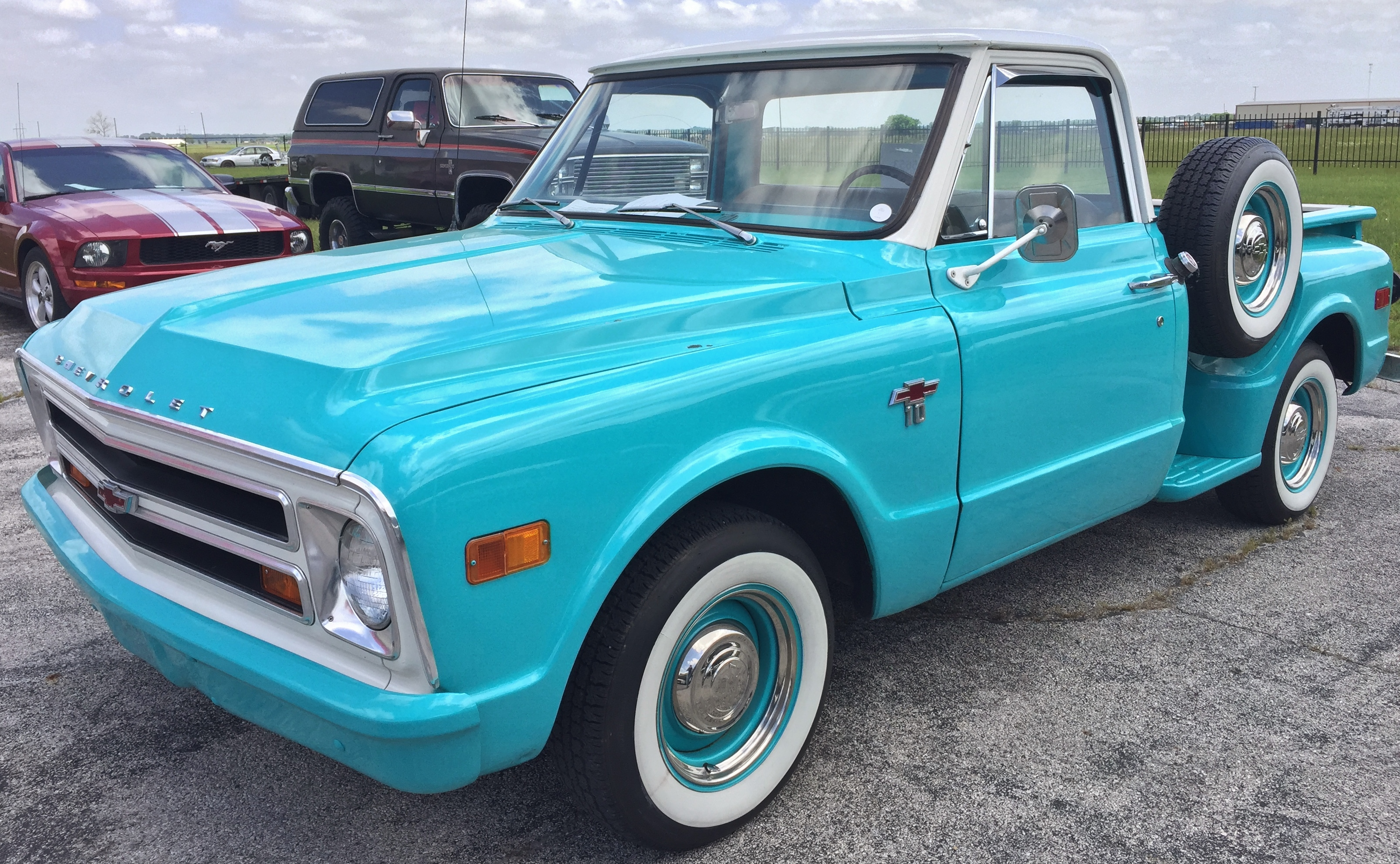 1968 Chevy Pickup Truck Chevrolet C10 Step Side Lone Star Classic Carslone Cars Img 0515 0517